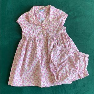 Vintage baby gap dress with bloomers